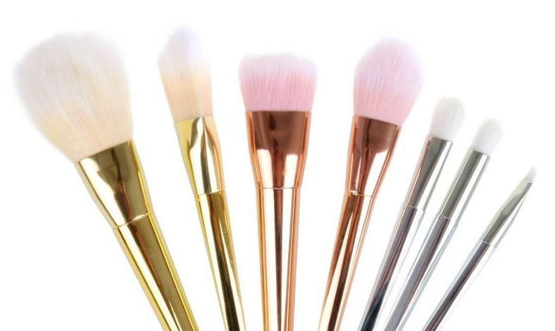 Alex T Professional 7pcs/lot Blush Foundation Make up Brushes Sets ...