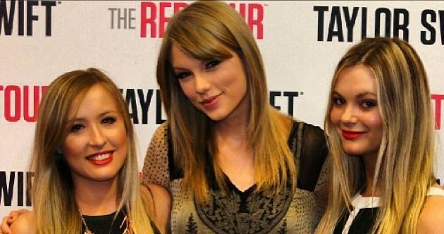 Great Event! Sheree far right, Illusions Makeup Artist, Event Coordination and Taylor Swift. www.illusionsmakeoverstudio.com