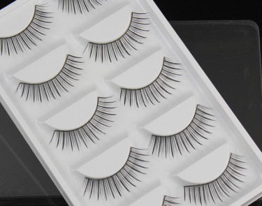 5 set false lash fine