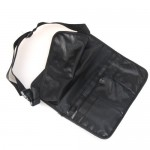 Professional Makeup Artist Brush-Bag-with Belt-Strap-Black
