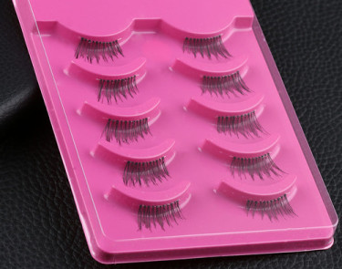 5 Pairs-Women-Fashion-Half-Fake-False-Eyelashes-Kit-