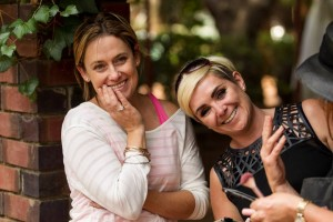 Exclusive Brides Editor Paula (left) Jo Hairdresser (right)Editoral Gomboc Gallery jpg