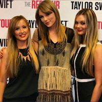Sherre our Event Coordinator with Taylor Swift